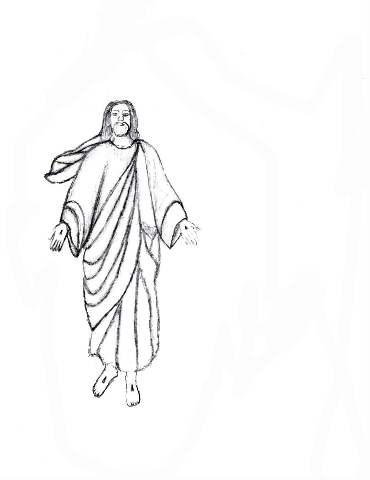 Jesus Drawings ...